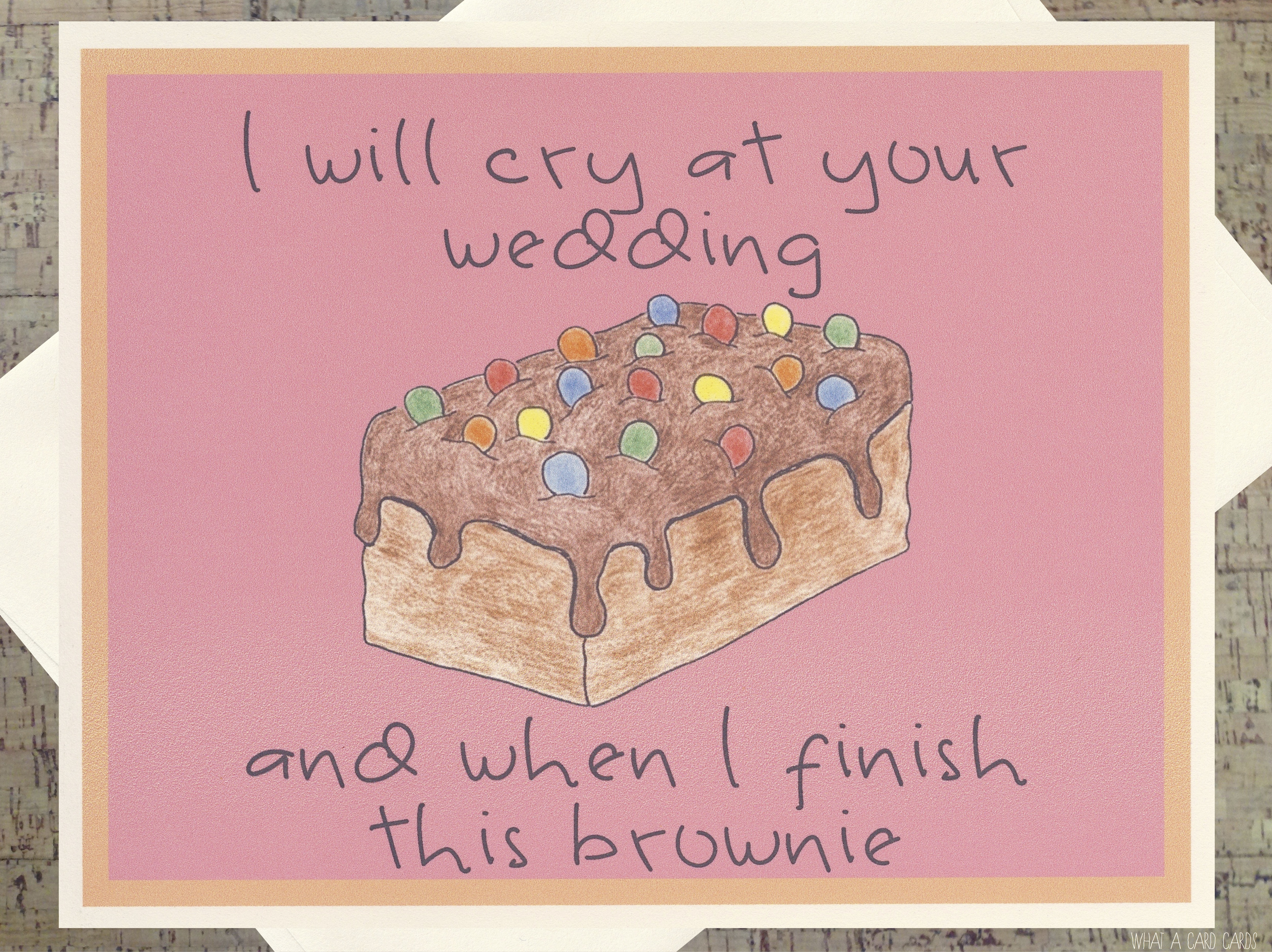 Chocolate what a card cards cry m4hsunfo